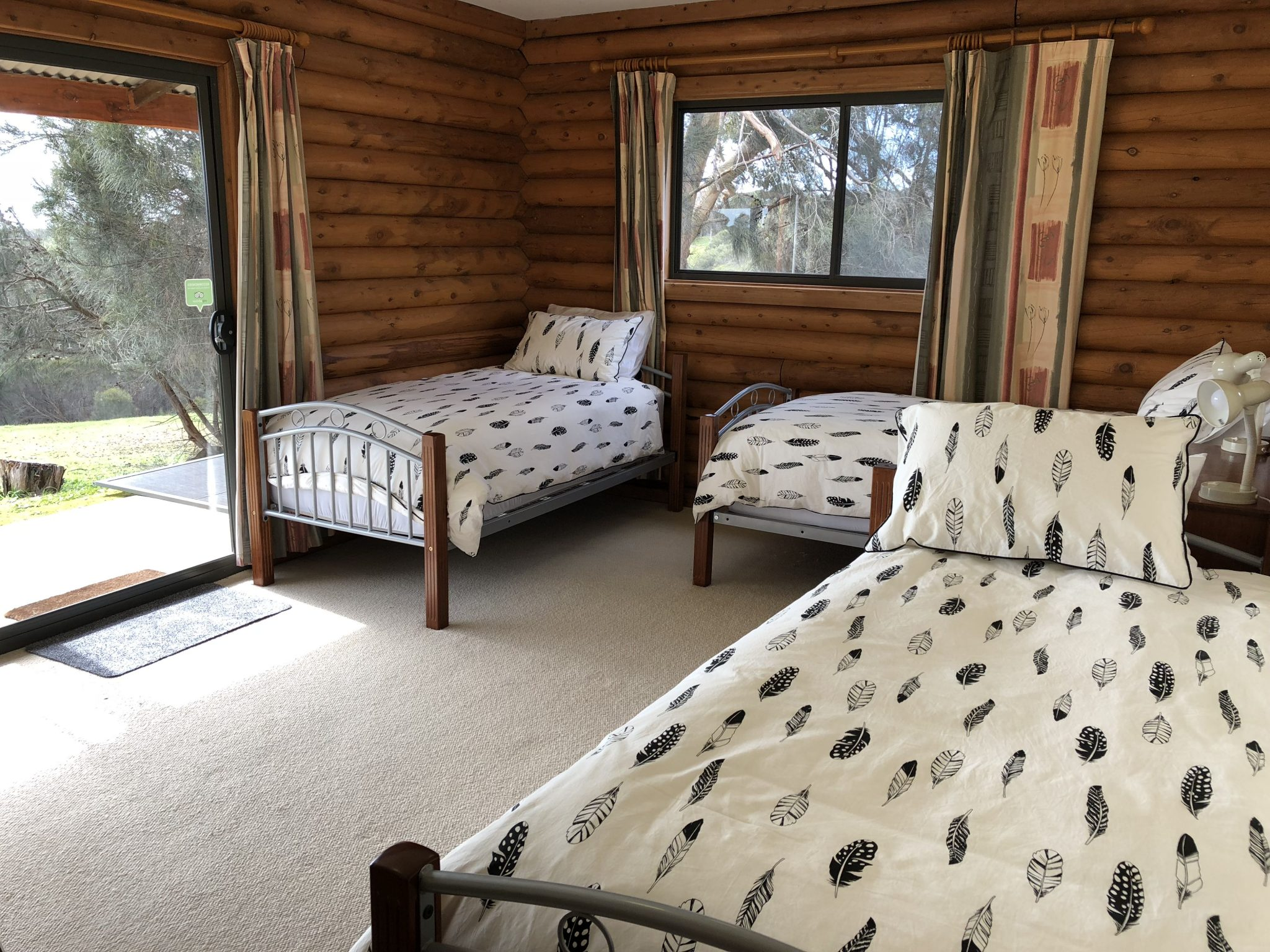 Bedroom Four with four Single Beds